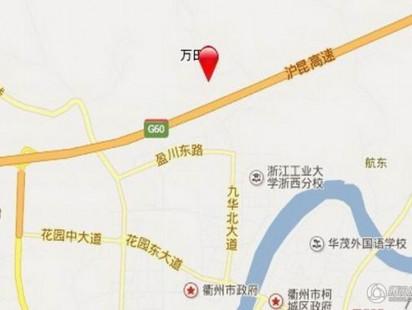 衢州文景苑二期交通图