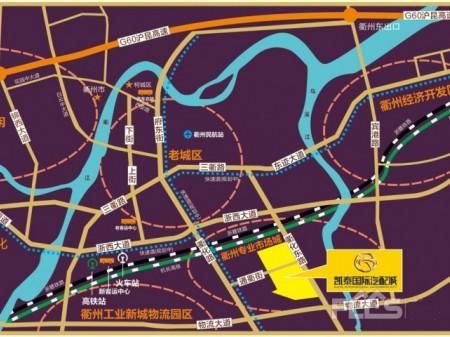 衢州凯泰国际汽配城交通图