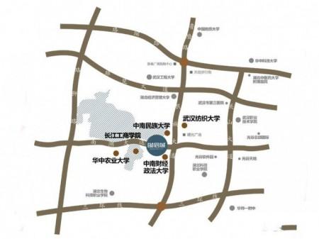 武汉南湖时尚城交通图