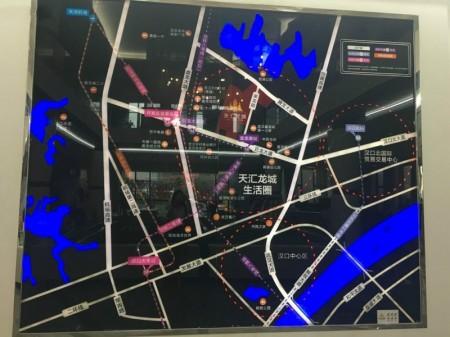武汉天汇龙城交通图