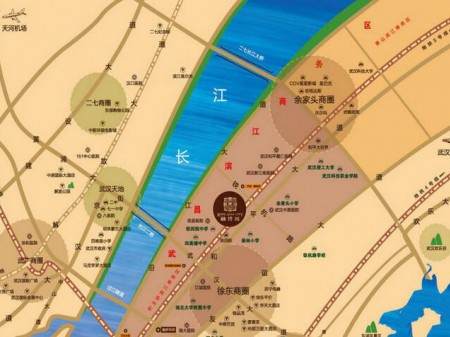 武汉融侨城交通图