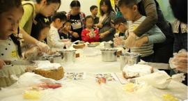 杭州万科海上明月西点烘焙活动