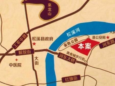 松溪金凯·蓝色港湾交通图