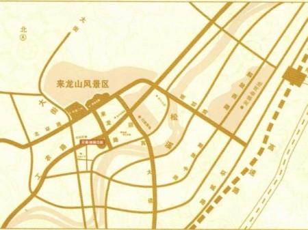 松溪元和·尚品中心交通图