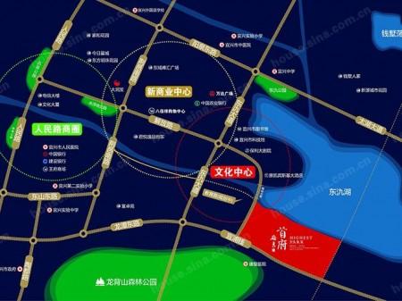 宜兴岭秀首府交通图