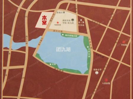 宜兴中星湖滨城五期交通图