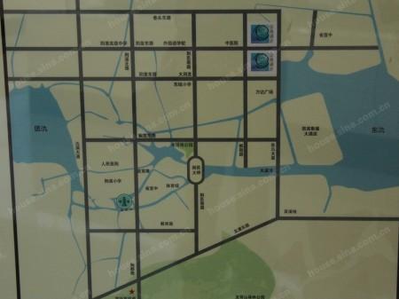 宜兴誉珑湖滨交通图