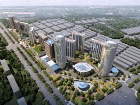 蚌埠南翔城市广场效果图