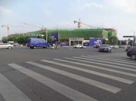 蚌埠南翔城市广场实景图