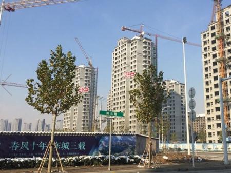 徐州和平上东实景图