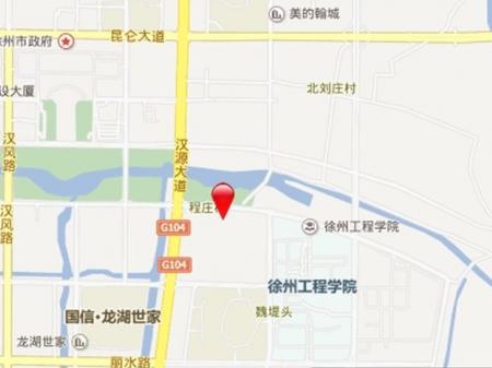 徐州月桥花院交通图