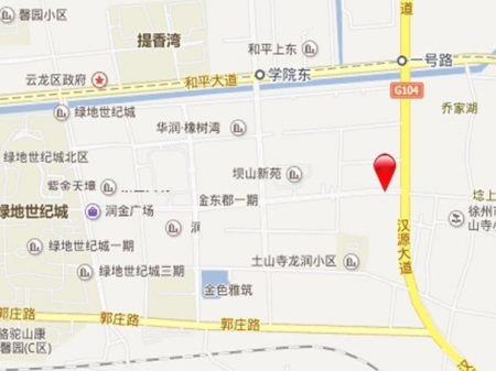 徐州绿地工润·和平壹号交通图