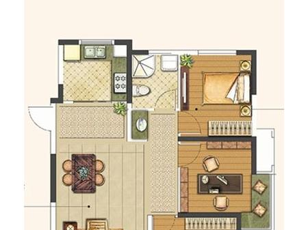 徐州绿地工润·和平壹号3室2厅1厨1卫户型图