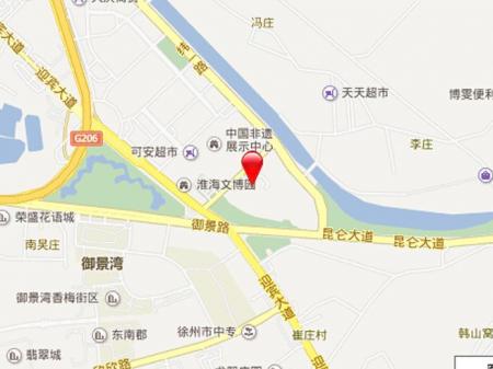 徐州盛世·孔雀城交通图