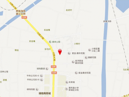 徐州奥体沁园交通图