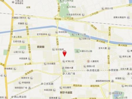 徐州海尔地产·滟澜公馆交通图