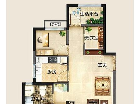 徐州海尔地产·滟澜公馆户型图
