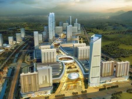 湘潭岳塘国际商贸城效果图