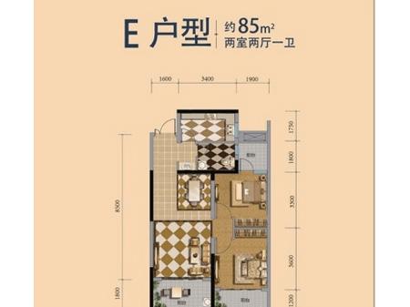 湘潭万达广场户型图