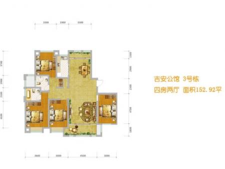 湘潭吉安公馆户型图