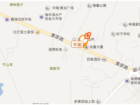 湘潭太阳城交通图