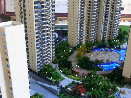 湘潭江麓中央广场•夏荷苑实景图