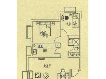 邯郸中央公园户型图