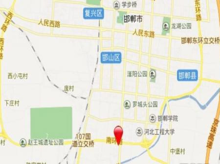邯郸颐景蓝湾交通图
