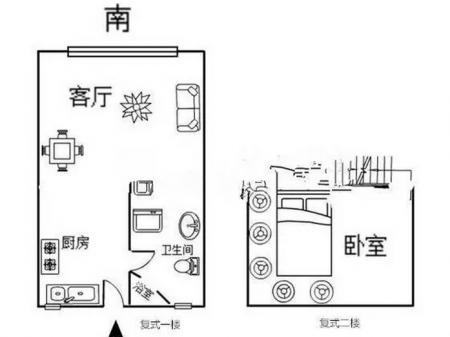 出售青春驿站(松江-九亭) 1室1厅1卫 简装