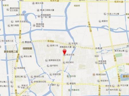 上海景瑞城中公园交通图