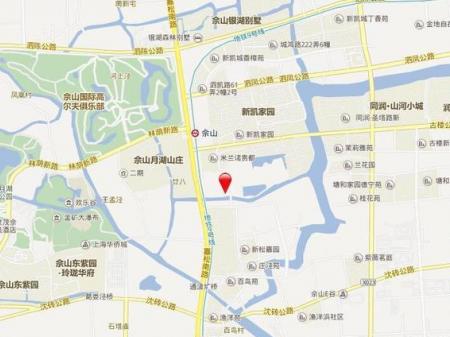 新城上坤樾山璟里交通图