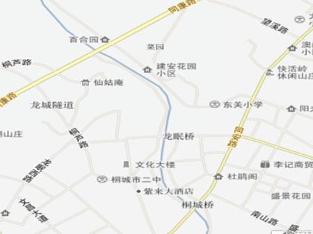 白银铜城润园交通图