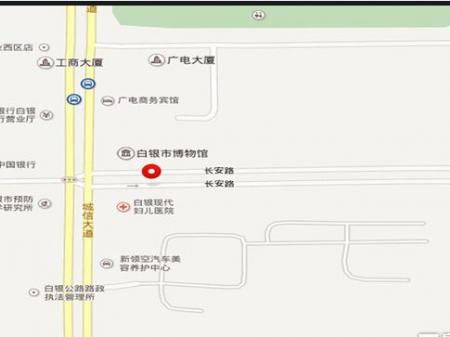 白银宁馨家园交通图