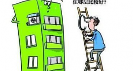 高层住宅楼层应如何选择