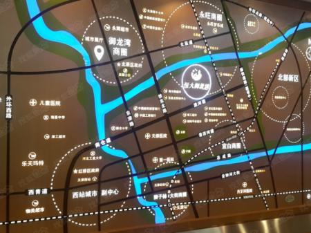 天津恒大御景湾交通图