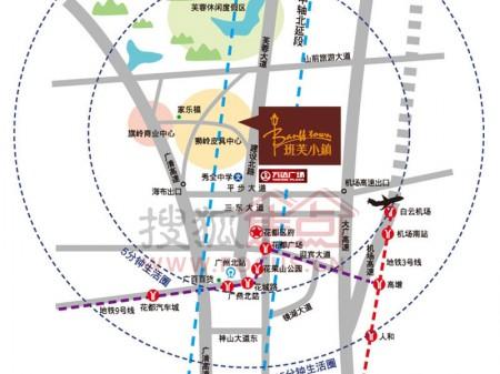 广州班芙小镇交通图