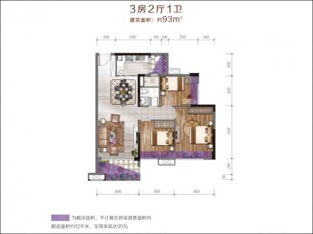广州班芙小镇户型图