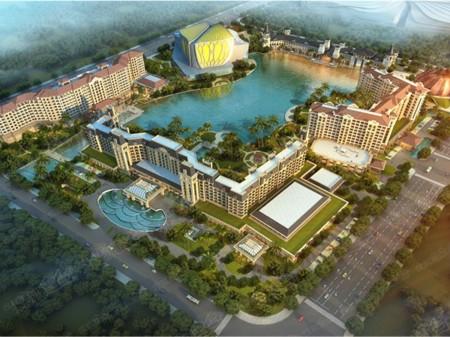 广州万达文化旅游城效果图