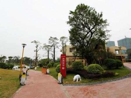 广州万达文化旅游城实景图