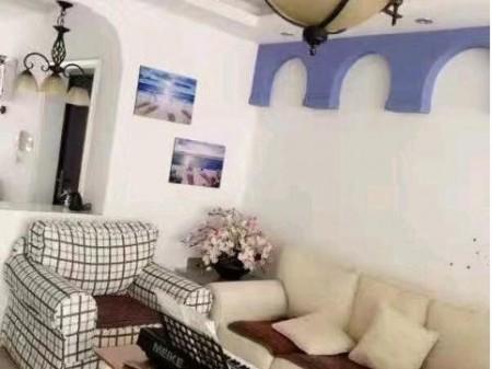 香樟名苑 2室2厅1卫 89,南北通透,精致装修,地中海风格,楼层佳