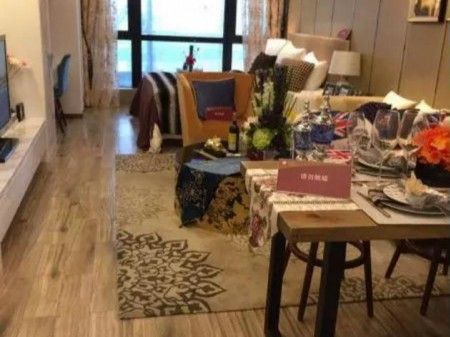 广州长风国际公寓二手房精装房44万 富士康隔壁