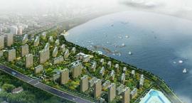 大庆果岭半岛项目占兰德湖板块临湖地块