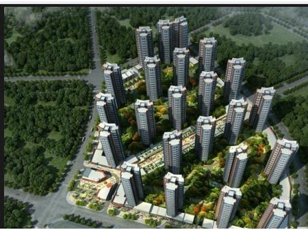 惠州中信水岸城花园效果图