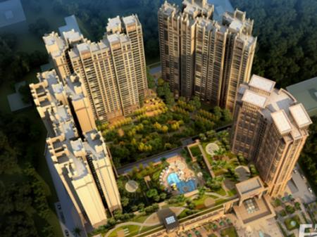 惠州铂金广场效果图