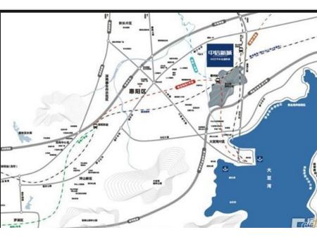 惠州碧桂园·南站新城交通图