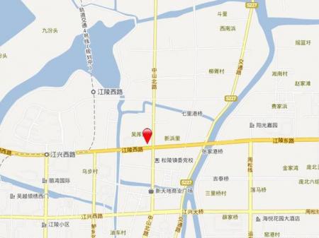 苏州海亮长桥府交通图