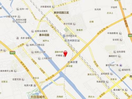 苏州南山柠檬花园柠府交通图