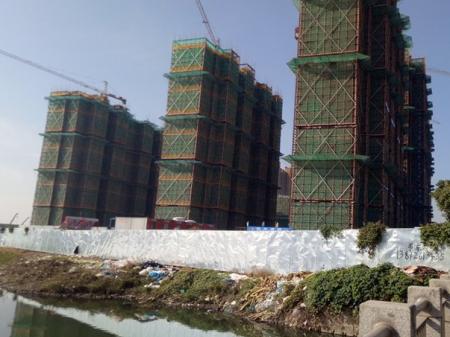 苏州新城招商香溪源实景图