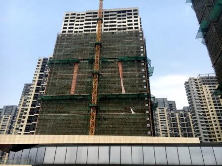 南京正荣润江城实景图