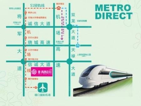南京朗诗青春街区交通图